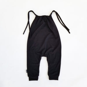 Baby Girl Romper - Black