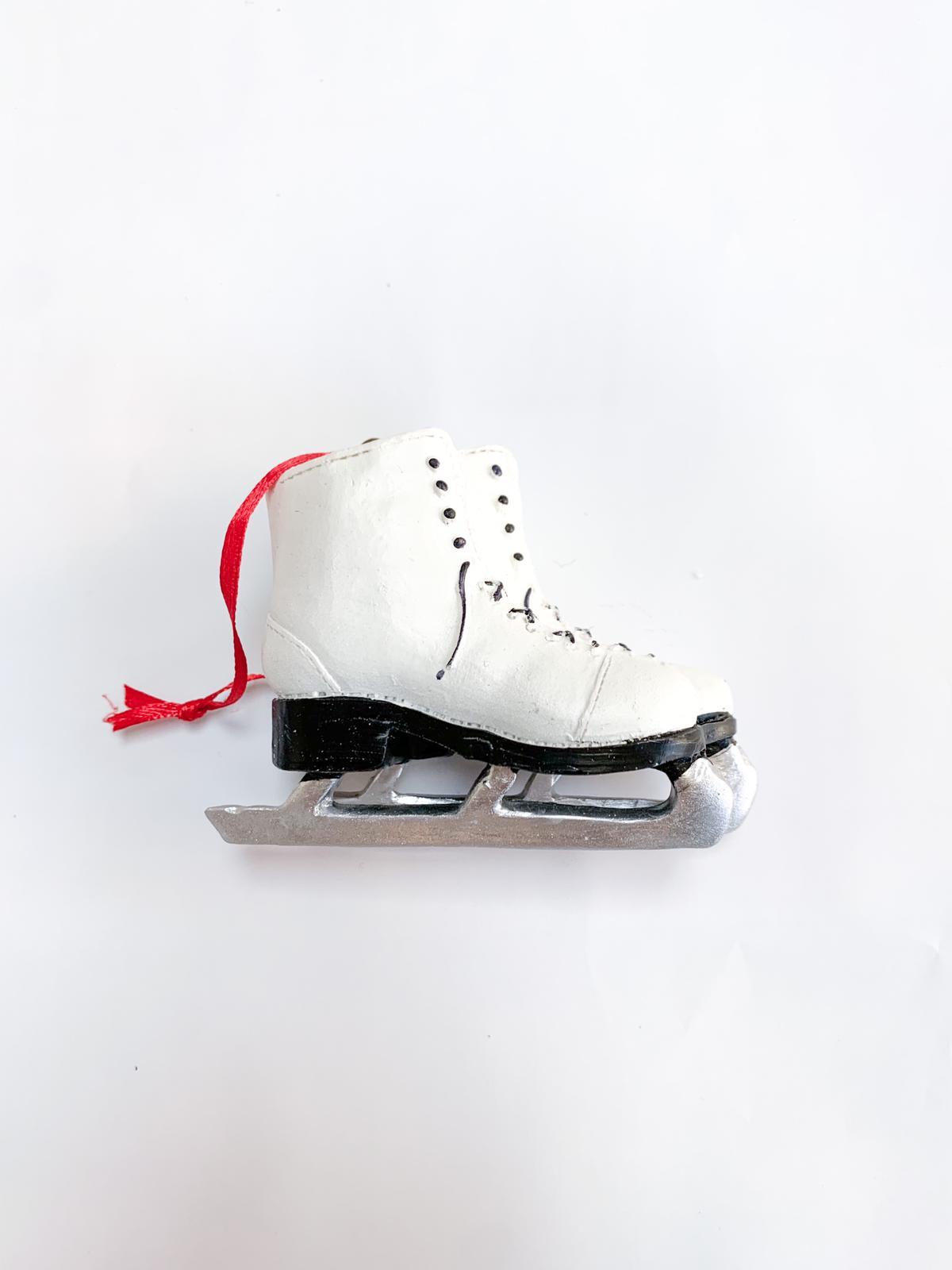 Figure skates ornament