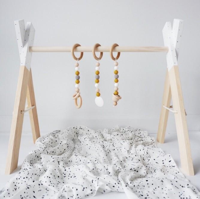 Wooden Activity Gym - Sunrise