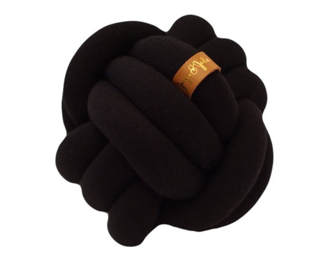 Knot Pillow - Mini Black