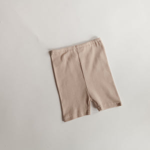 Bike Shorts - Putty