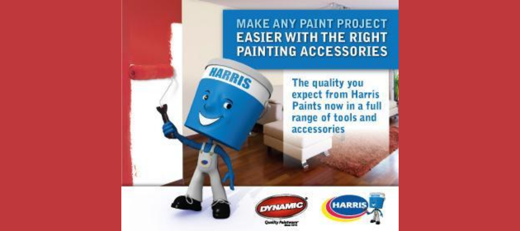 Harris Paints Partners with Dynamic Paint Products to Simplify Accessory Selection