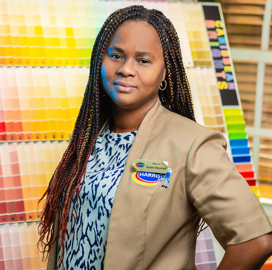 Karen Beckles who is our Colour Champion and Colour Design coordinator in Barbados.