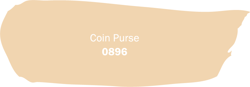 Coin Purse 0896 brush stroke. Available at Harris Paints in the Caribbean.