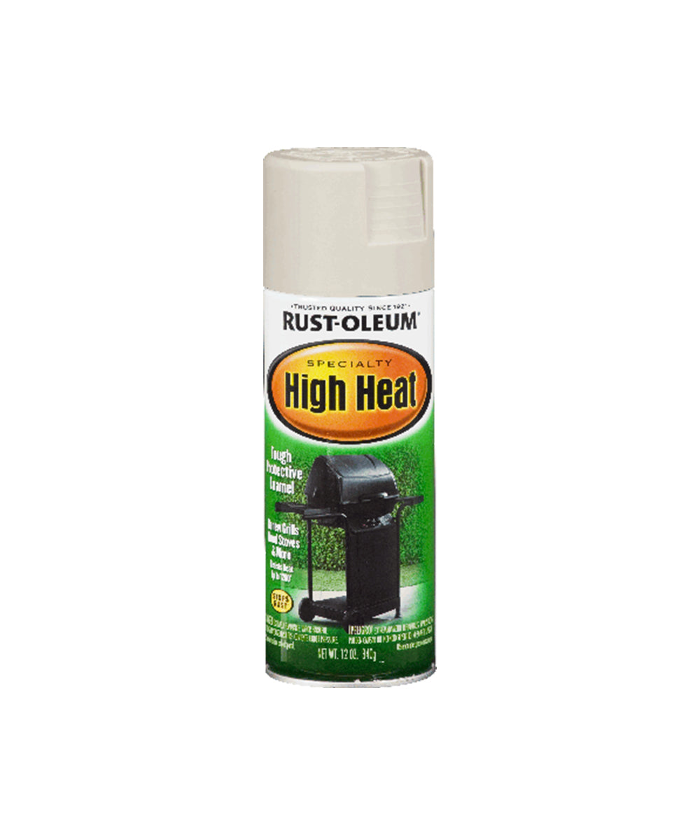 Rust-Oleum Specialty High Heat, available at Harris Paints in the Caribbean.