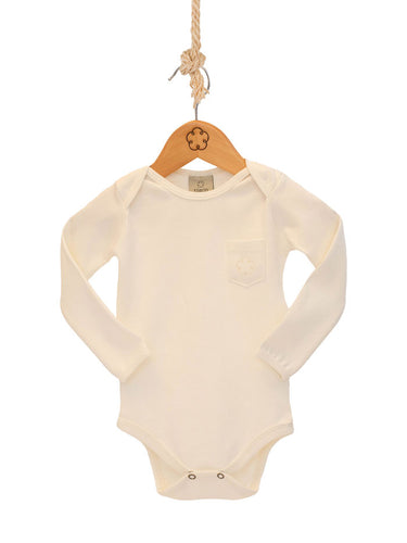 Body 24-7 manga longa [Organics] - Branco Off - babytisco