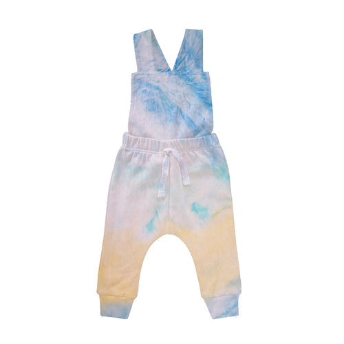 Tie Dye Collection - Jardineira Cross calça - Sunny Day