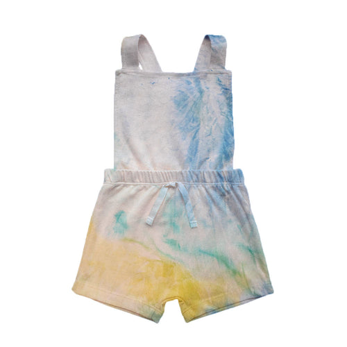 Tie Dye Collection - Jardineira Cross short - Sunny Day