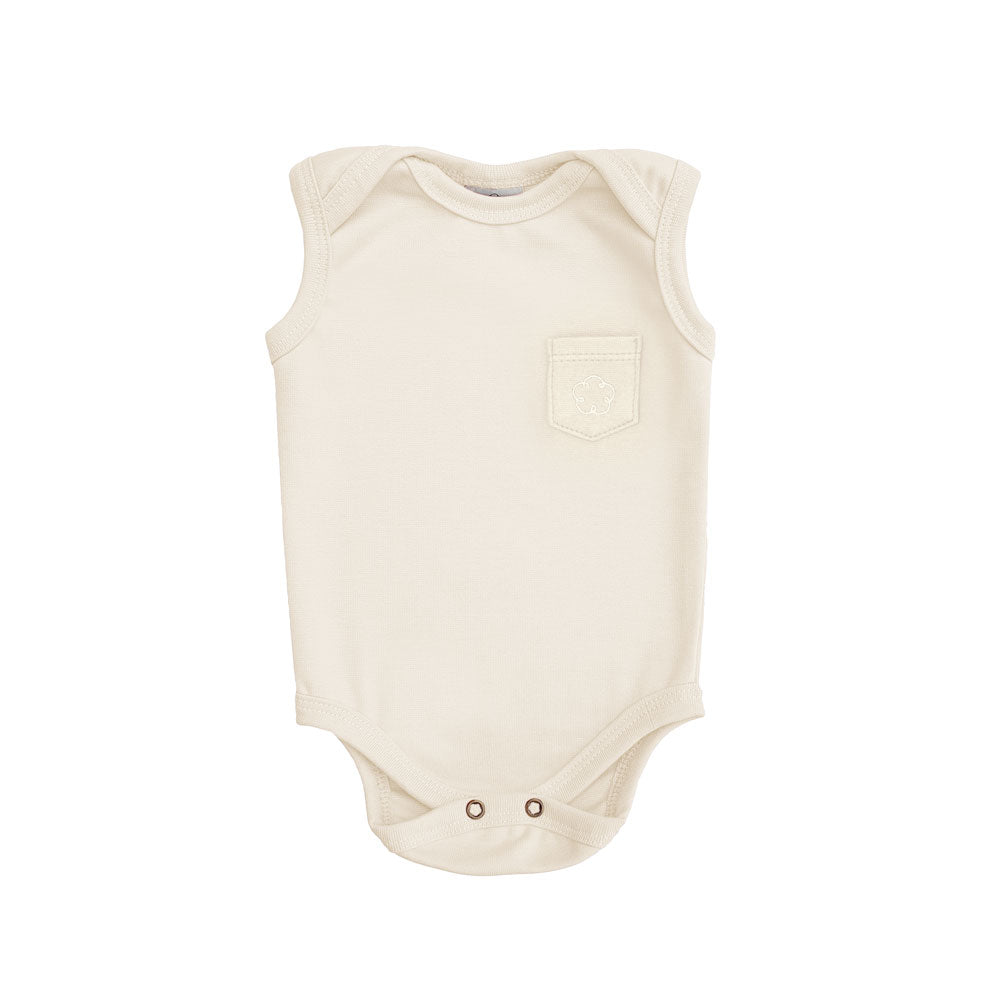 Body 24-7 regata [Organics] - Branco Off - babytisco