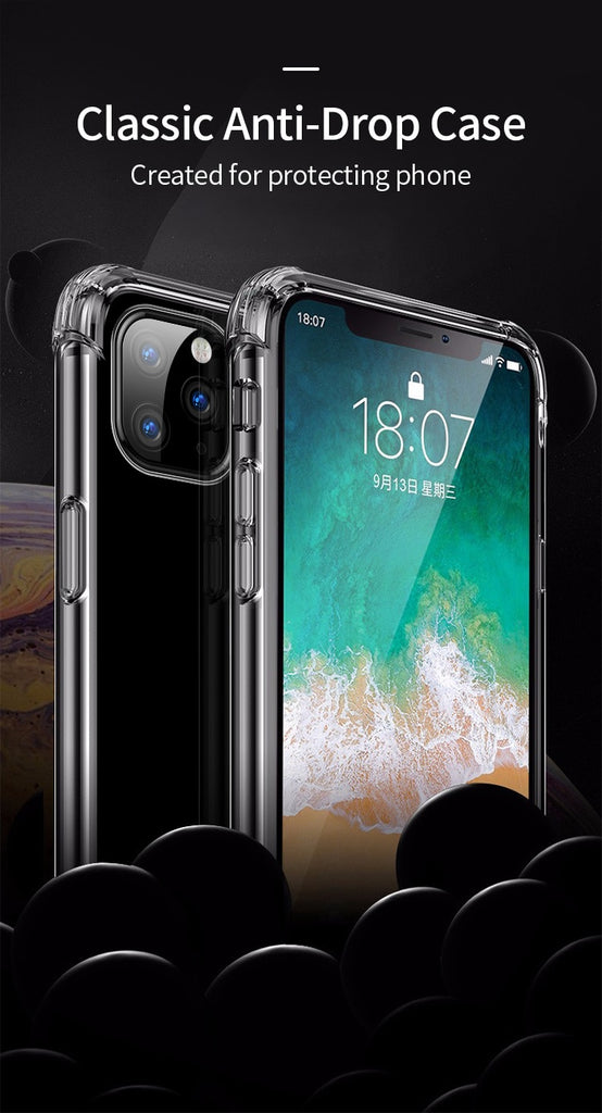 Stealth Shell Clear Silicone iPhone Case