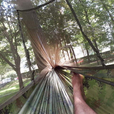 Outdoor Camping Hammock with Bug Net