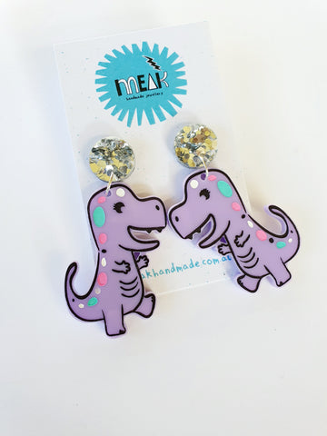 Kawaii Dinosaur dangles!