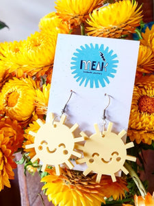 Sunny Suns Dangle Earrings - Meak Handmade