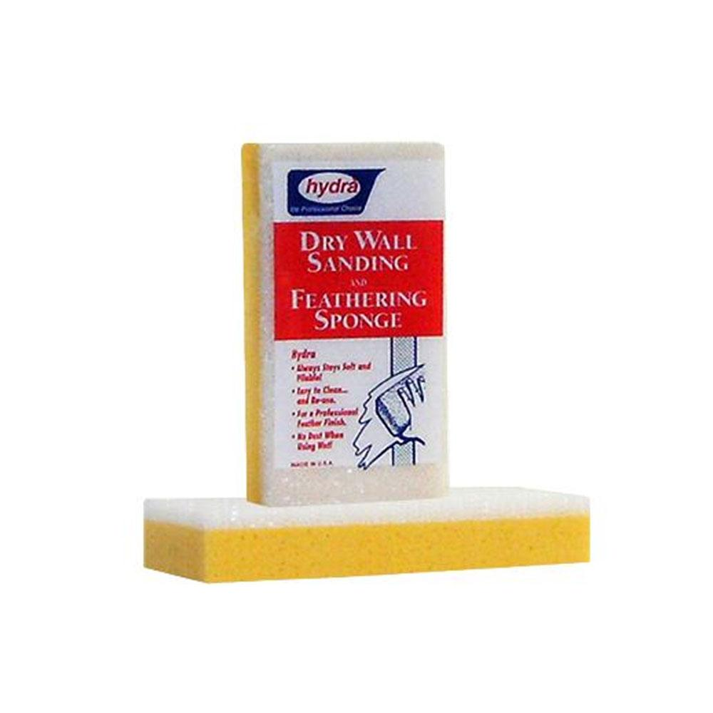 Drywall sanding sponge, available at Wallauer in NY.