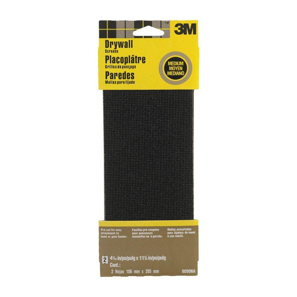 "DRYWALL SANDING SCREEN 4.5X11"" 2PK available at Wallauer's Paint & Wallpaper Stores."