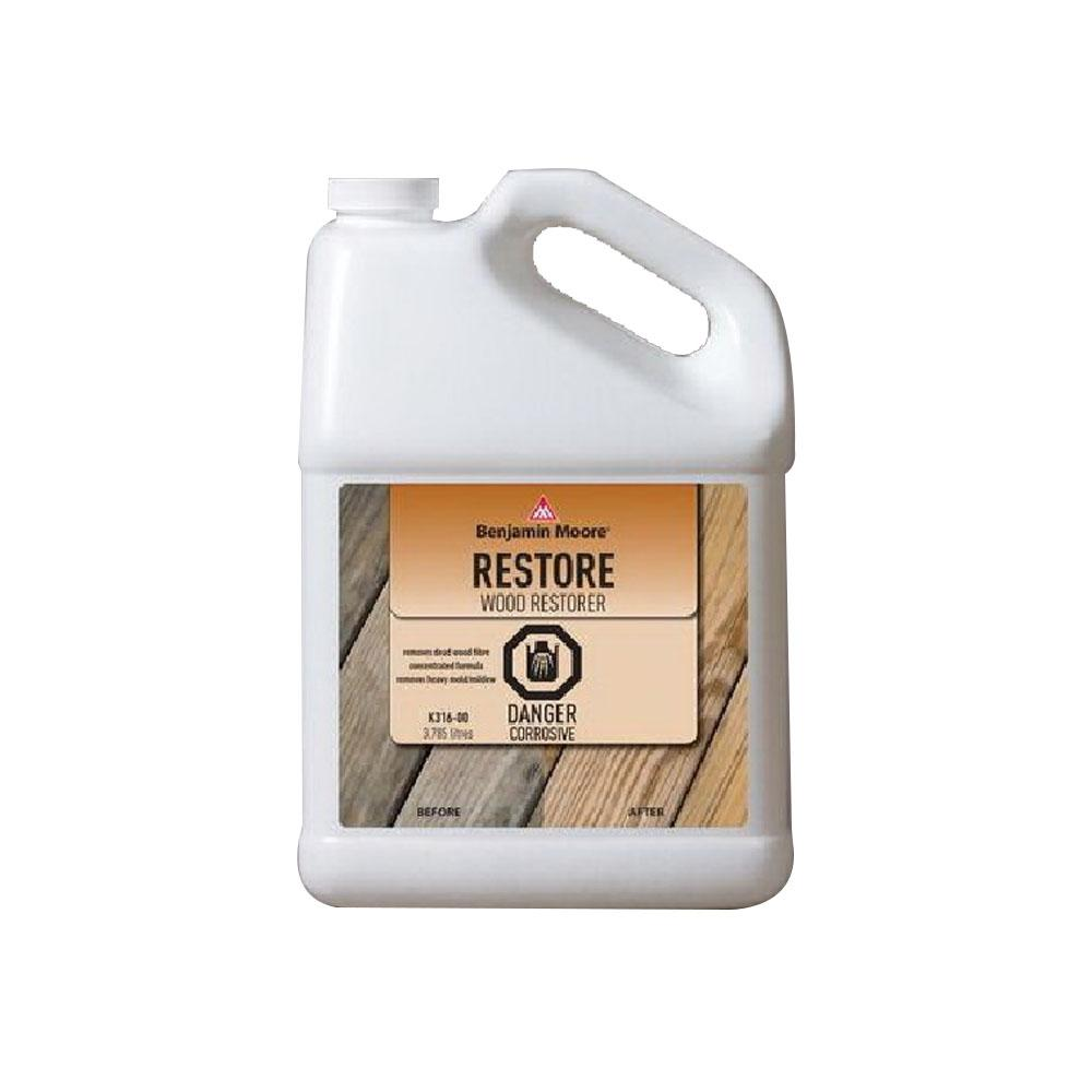 Exterior Stain Finish Restorer, available at Wallauer's in NY.