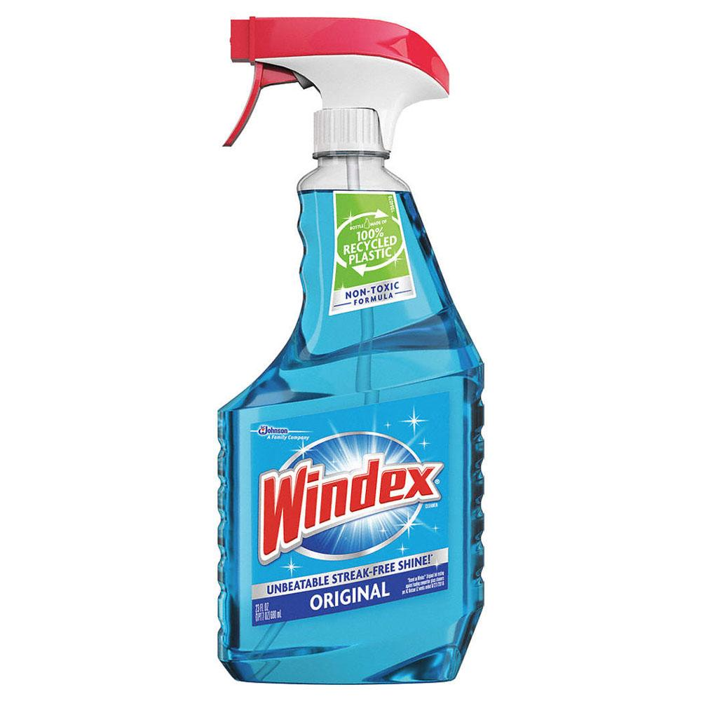 Windex original spray, available at Wallauer's in NY.