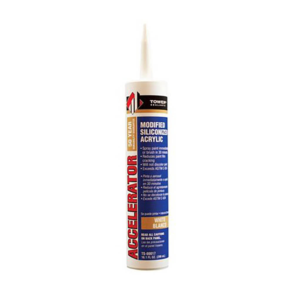 Accelerator Fast Dry Caulk, available at Wallauer's in NY.