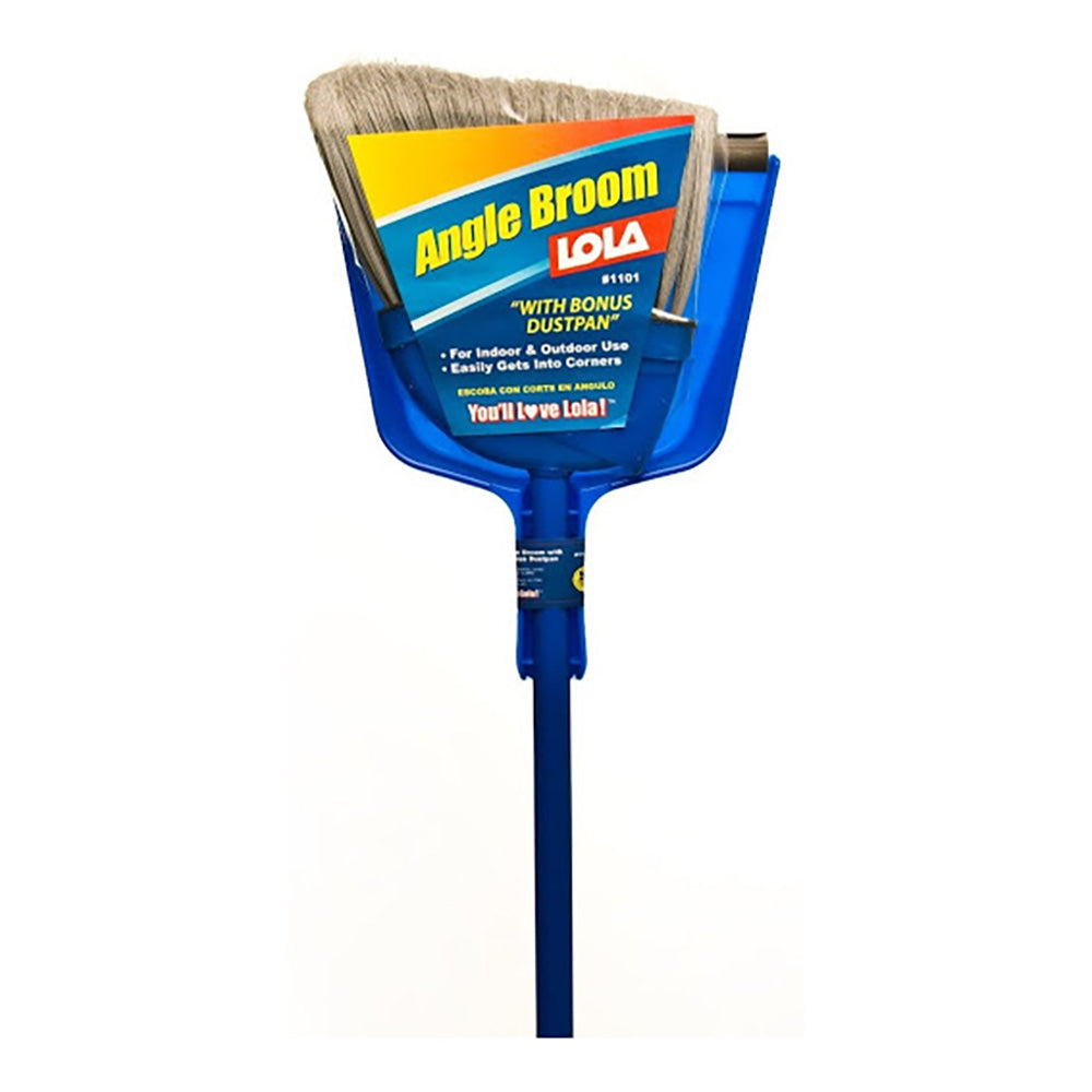 Angle Cut Broom W/ Dustpan, available at Wallauer's in NY.