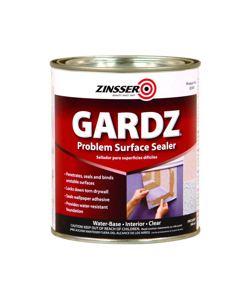 Zinsser Gardz sealer, available at Wallauer's in NY.