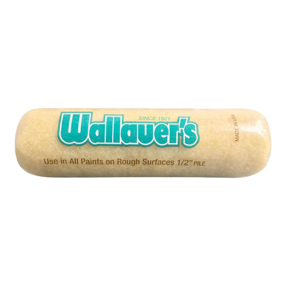 "Wallauer 1/2"" Nap Yellow 50/50 Roller, available at Wallauer Paint Centers in Westchester, Putnam, and Rockland Counties in New York."