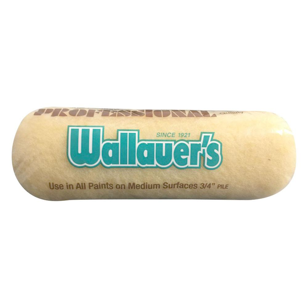 "Wallauer 3/4"" Nap Yellow 50/50 Roller, available at Wallauer Paint Centers in Westchester, Putnam, and Rockland Counties in New York."