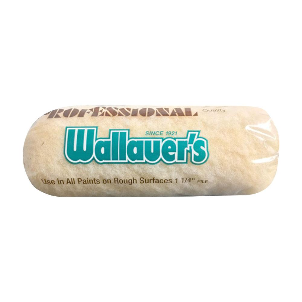 "Wallauer 1 1/4"" Nap (Extra Rough Surfaces) Yellow 50/50 Roller"