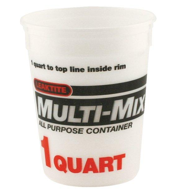 Mix N Measure Container, available at Wallauer Paint Centers in Westchester, Putnam, and Rockland Counties in New York.