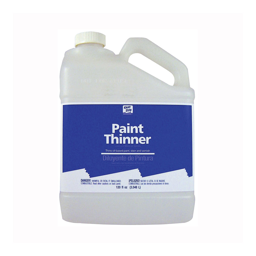 Klean Strip Paint Thinner, available at Wallauer's in NY.