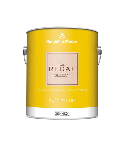 Benjamin Moore Regal Select Flat Paint available at Wallauer Paint & Design.