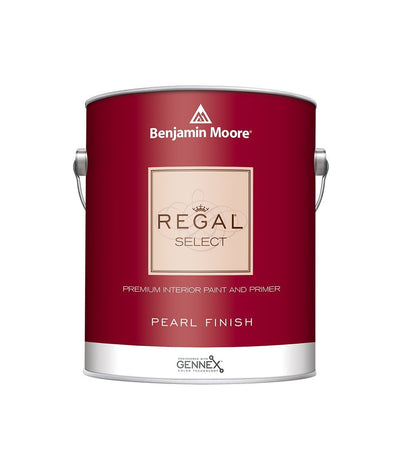 Benjamin Moore Regal Select Pearl Paint available at Wallauer Paint & Design.