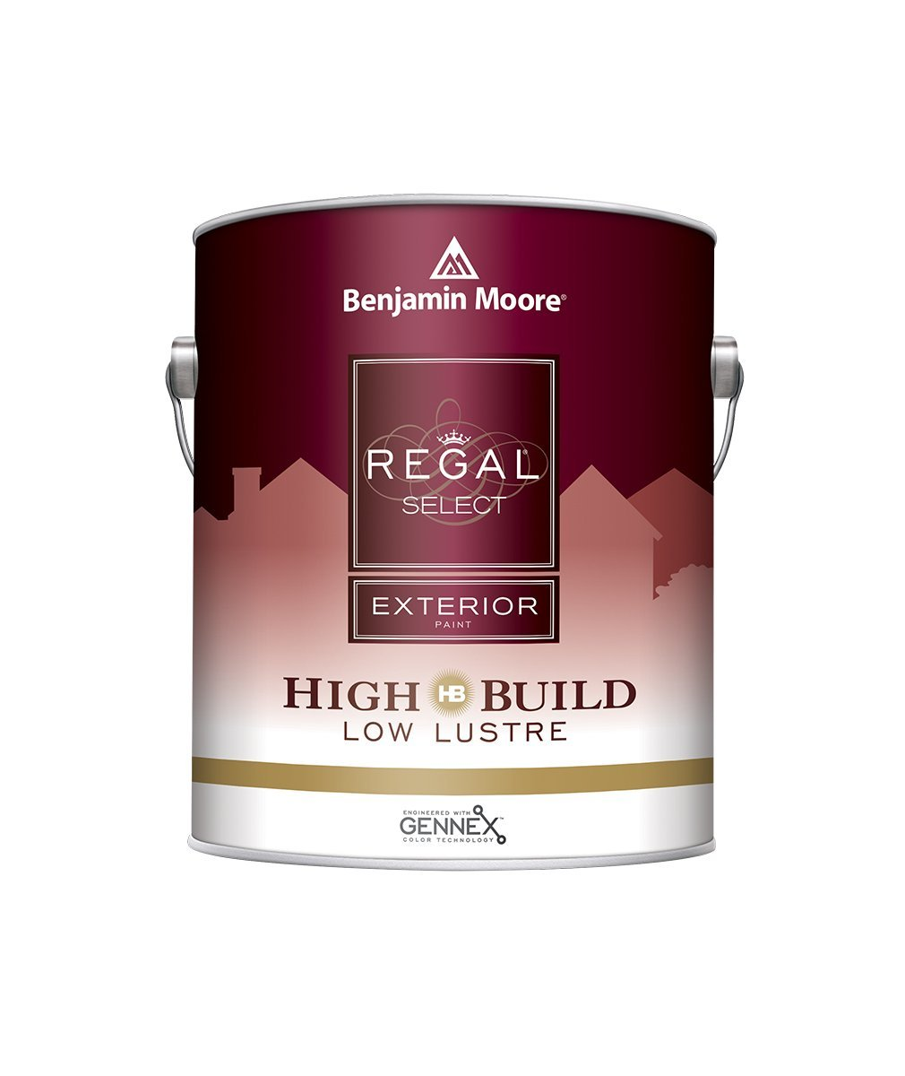 Benjamin Moore Regal Select Low Lustre Exterior Paint Gallon, available at Wallauer Paint & Design.