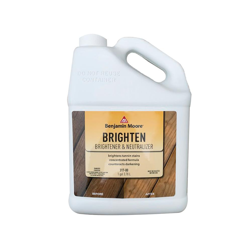 Exterior Wood Brightener & Neutralizer, available at Wallauer's in NY.