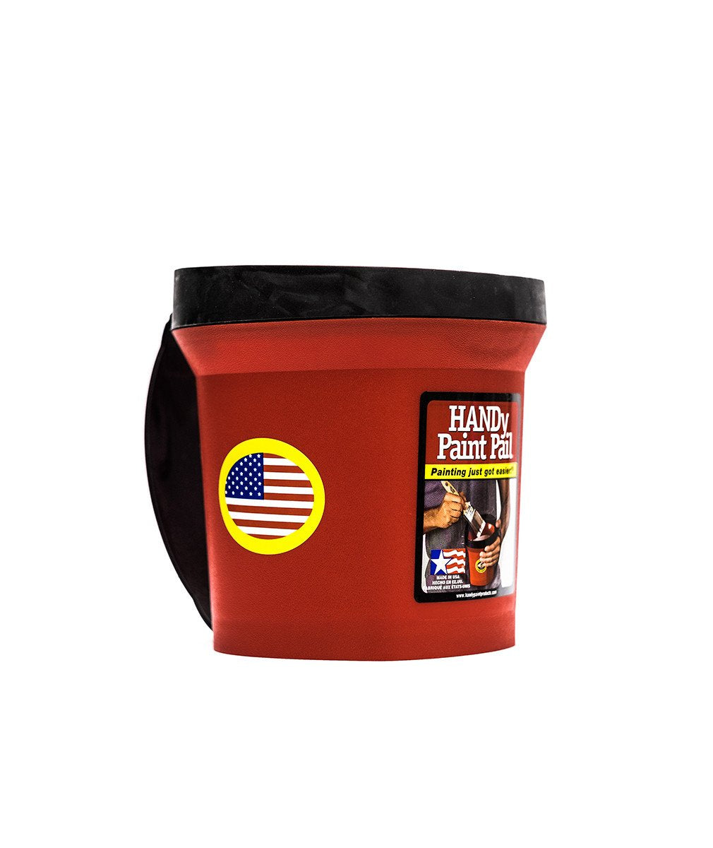 Handy paint pail, available at Wallauer's in NY.