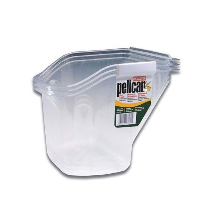 Pelican Liner 3 Pack For Paint Pail, available at Wallauer Paint Centers in Westchester, Putnam, and Rockland Counties in New York.