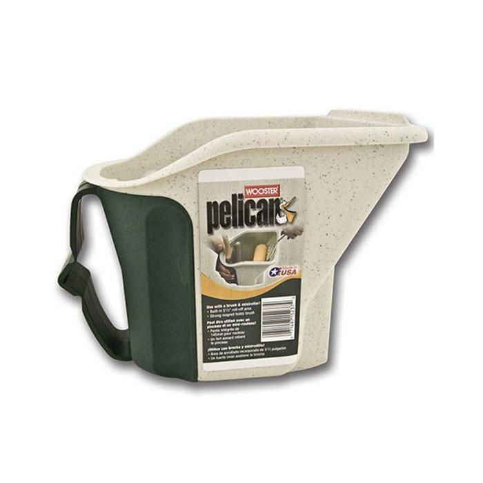 Pelican hand held pail, available at Wallauer Paint Centers in Westchester, Putnam, and Rockland Counties in New York.