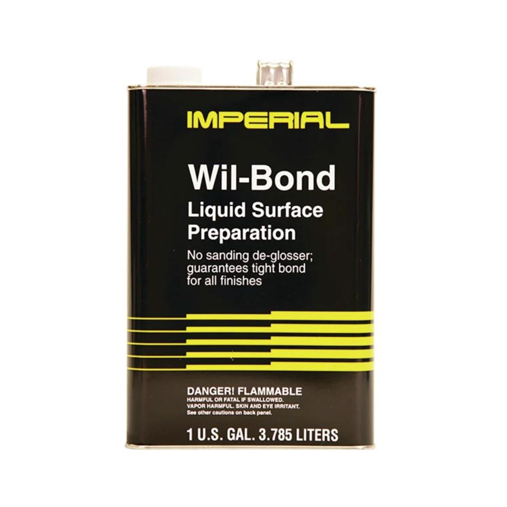 Deglosser Wil-Bond Surface Prep, available at Wallauer's in NY.