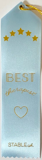 Best Therapist Award Ribbon