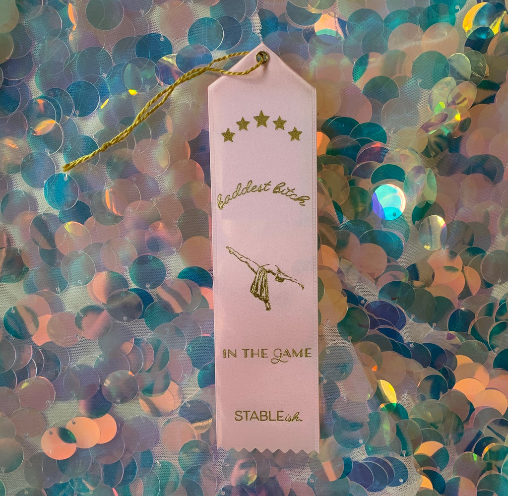 Baddest In The Game Award Ribbon