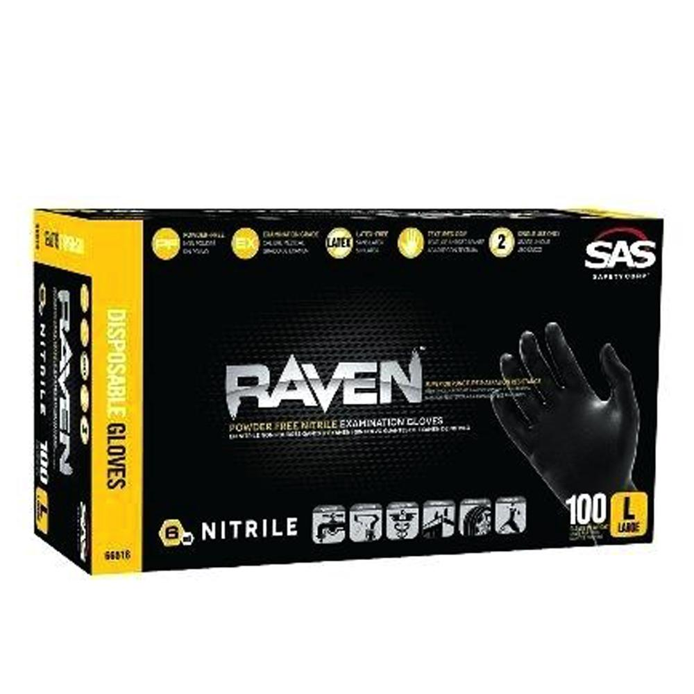 Raven 6 Mil gloves, available at Southwestern Paint in Houston, TX.