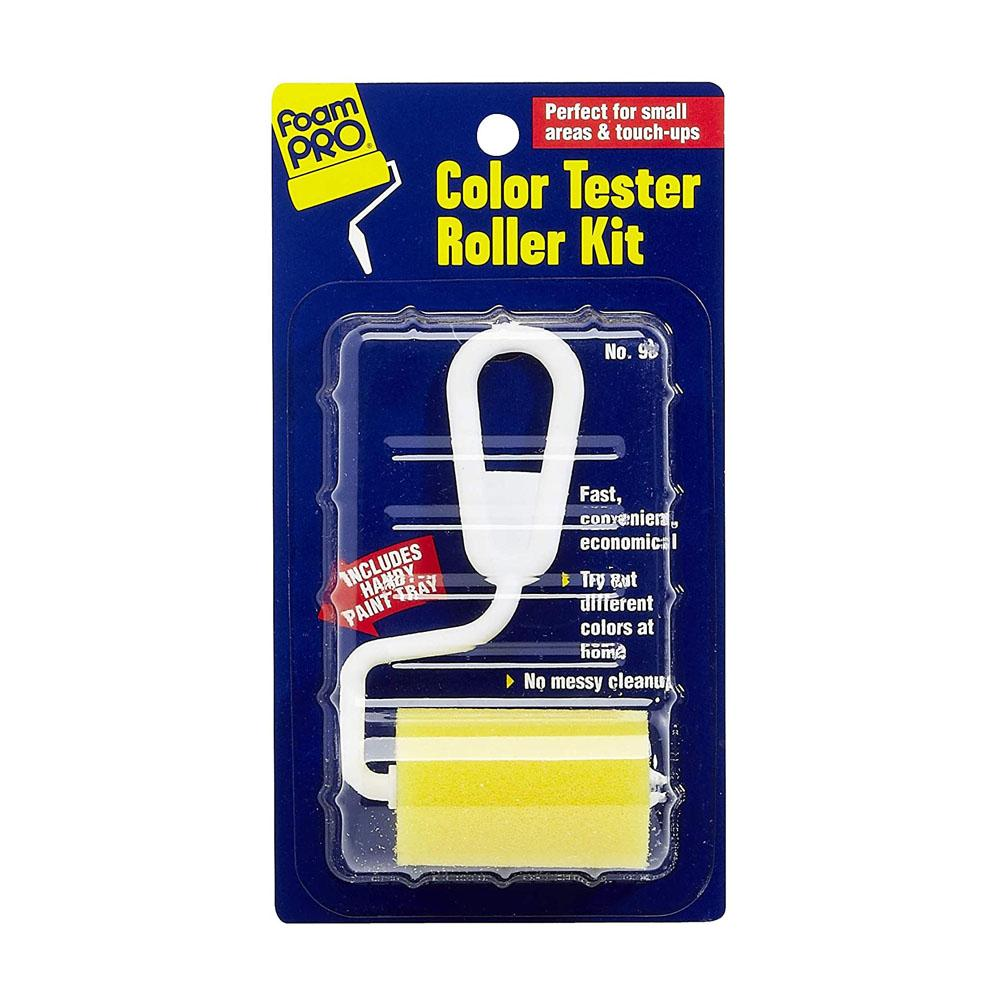Color Tester Roller Kit by Foampro, available at Southwestern Paint in Houston, TX.