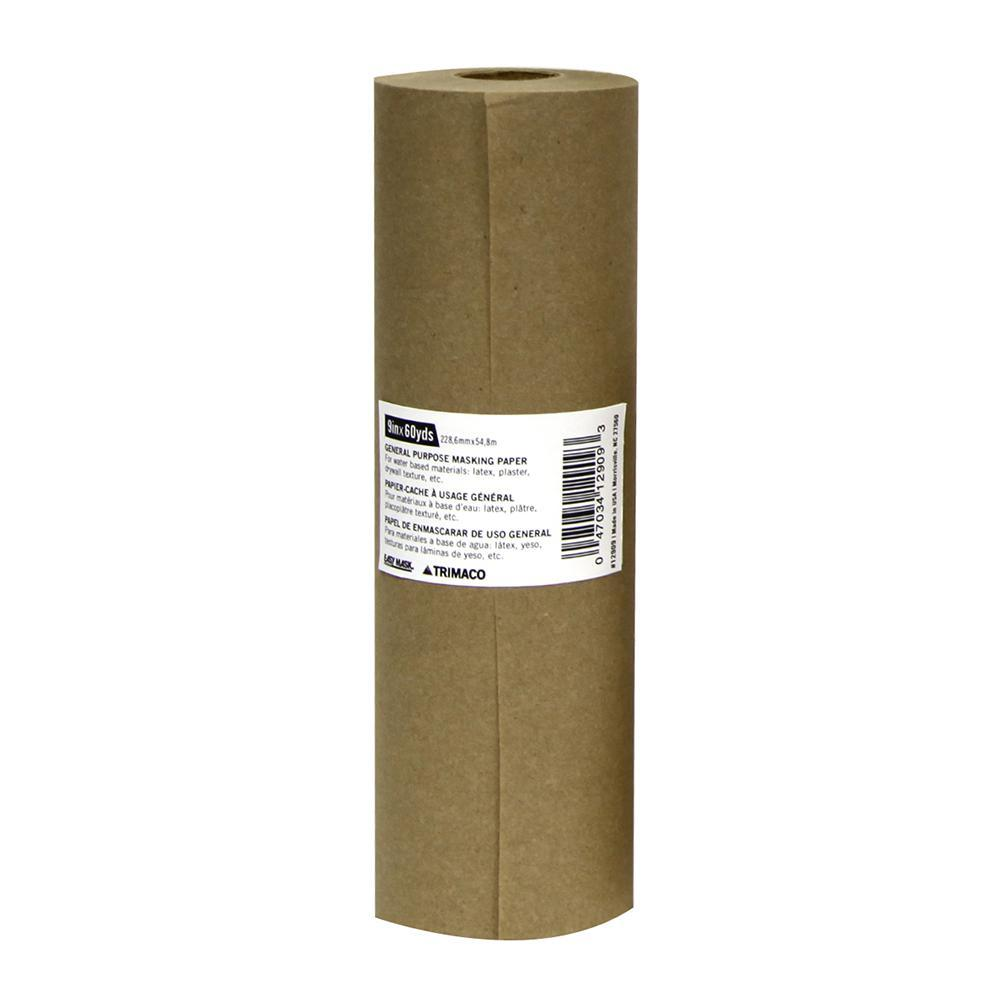 Trimaco Masking Paper, available at Southwestern Paint in Houston, TX.