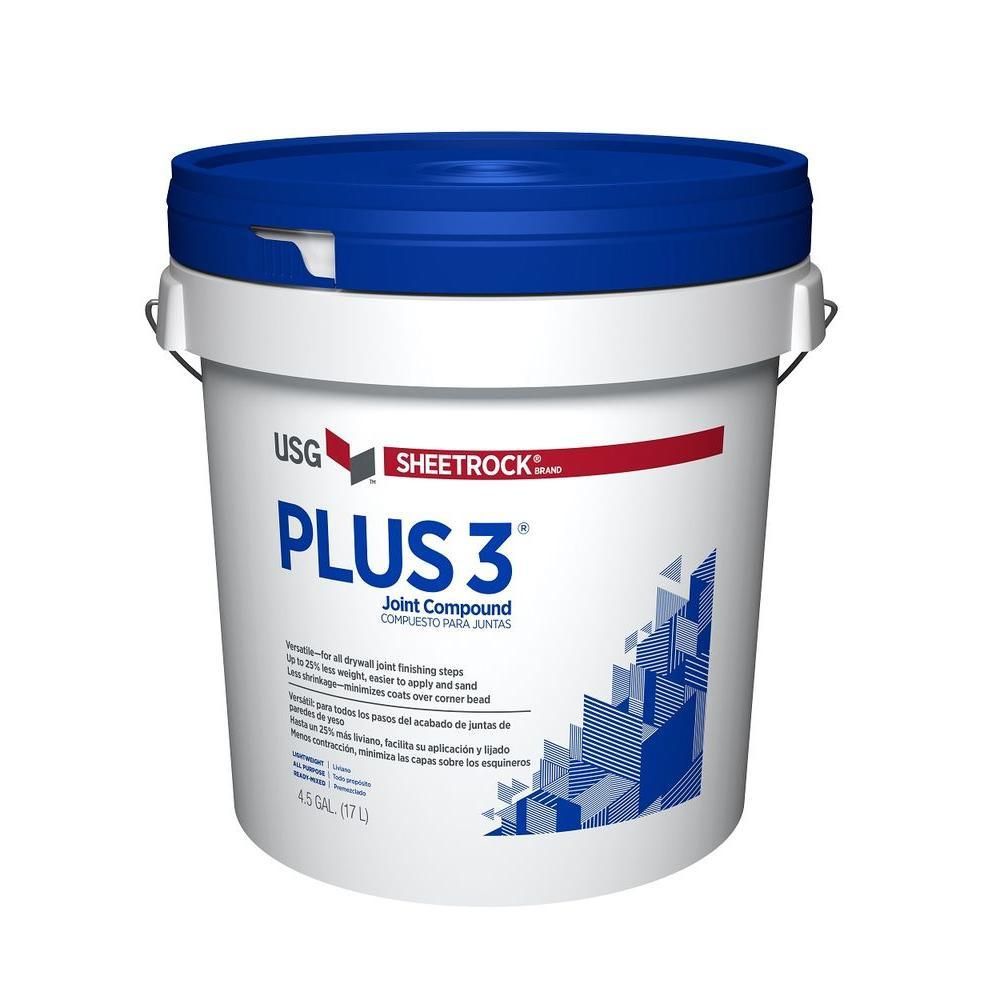 USG +3 Lightweight Joint Compound, available at Southwestern Paint in Houston, TX.