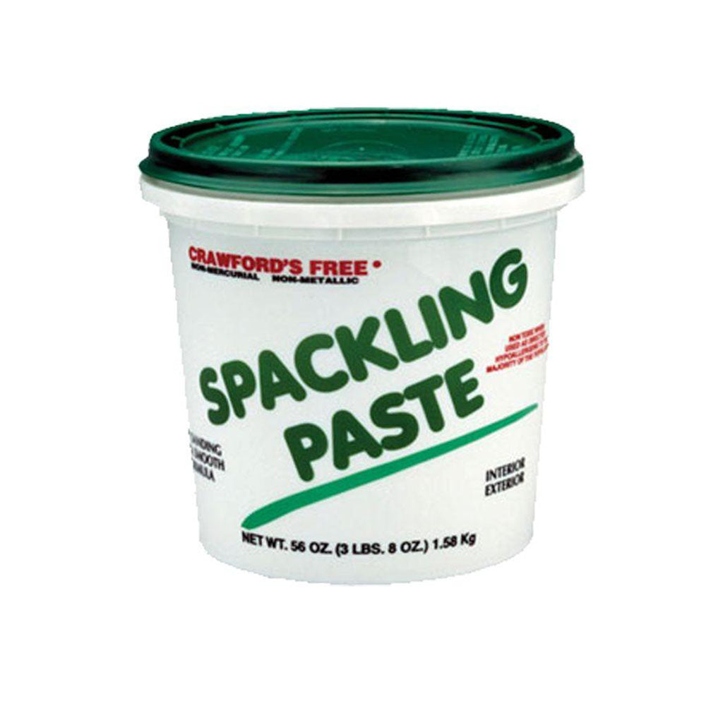 Crawford's Int/Ext Spackling Paste, available at Southwestern Paint in Houston, TX.