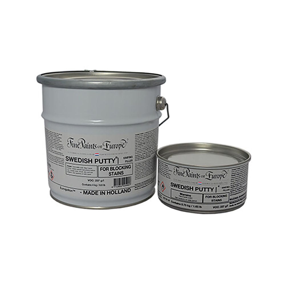 Swedish Putty, available at Southwestern Paint in Houston, TX.