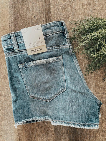 Stormi High Rise Denim Short | FINAL SALE