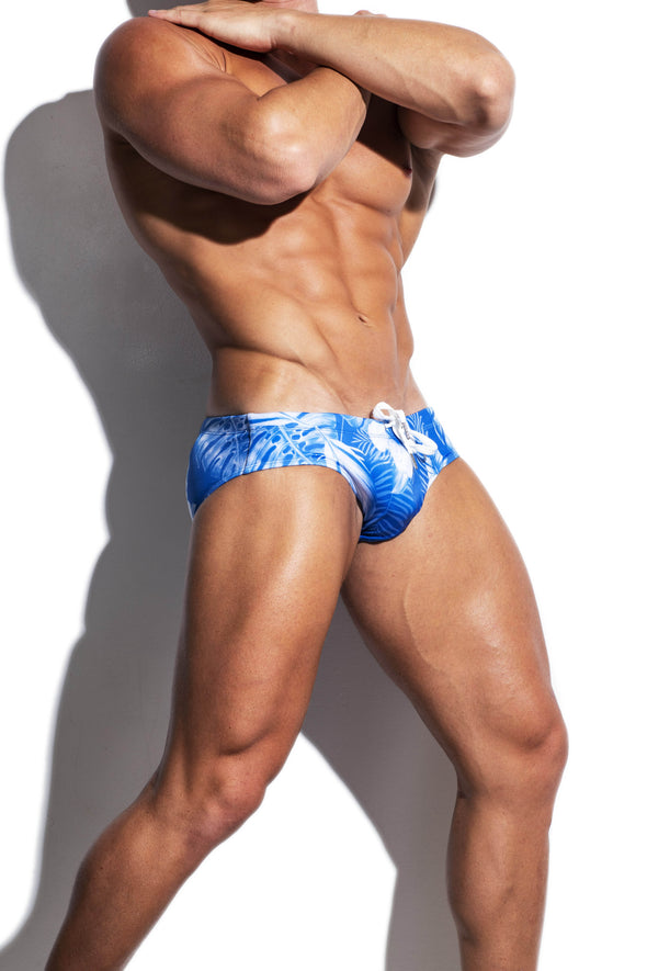 Blue Fauna Streamline Swim Brief - Turlock & Co.