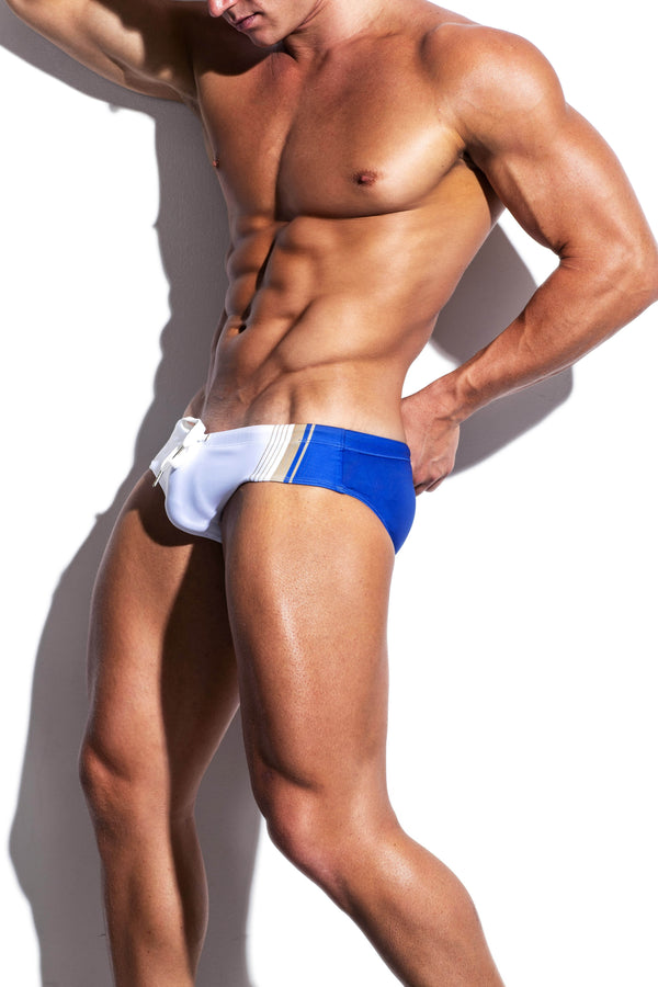 Collegiate Streamline Swim Brief - Turlock & Co.