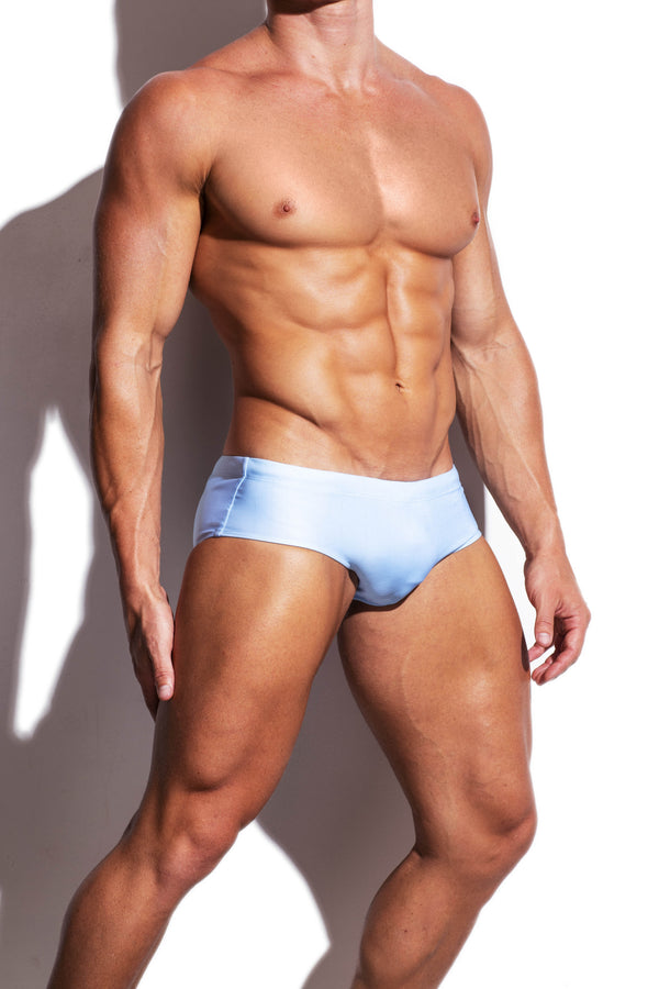 Sky Blue Sunga Swim Brief - Turlock & Co.