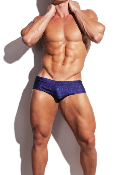 Wire Forests Faded Purple Sunga Swim Brief - Turlock & Co.